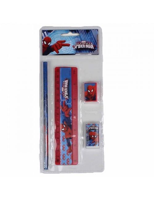 Set papetarie 4 piese Spider-Man