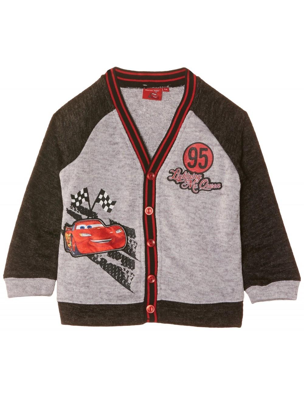 Pulover cu nasturi 3-8 ani Disney Cars