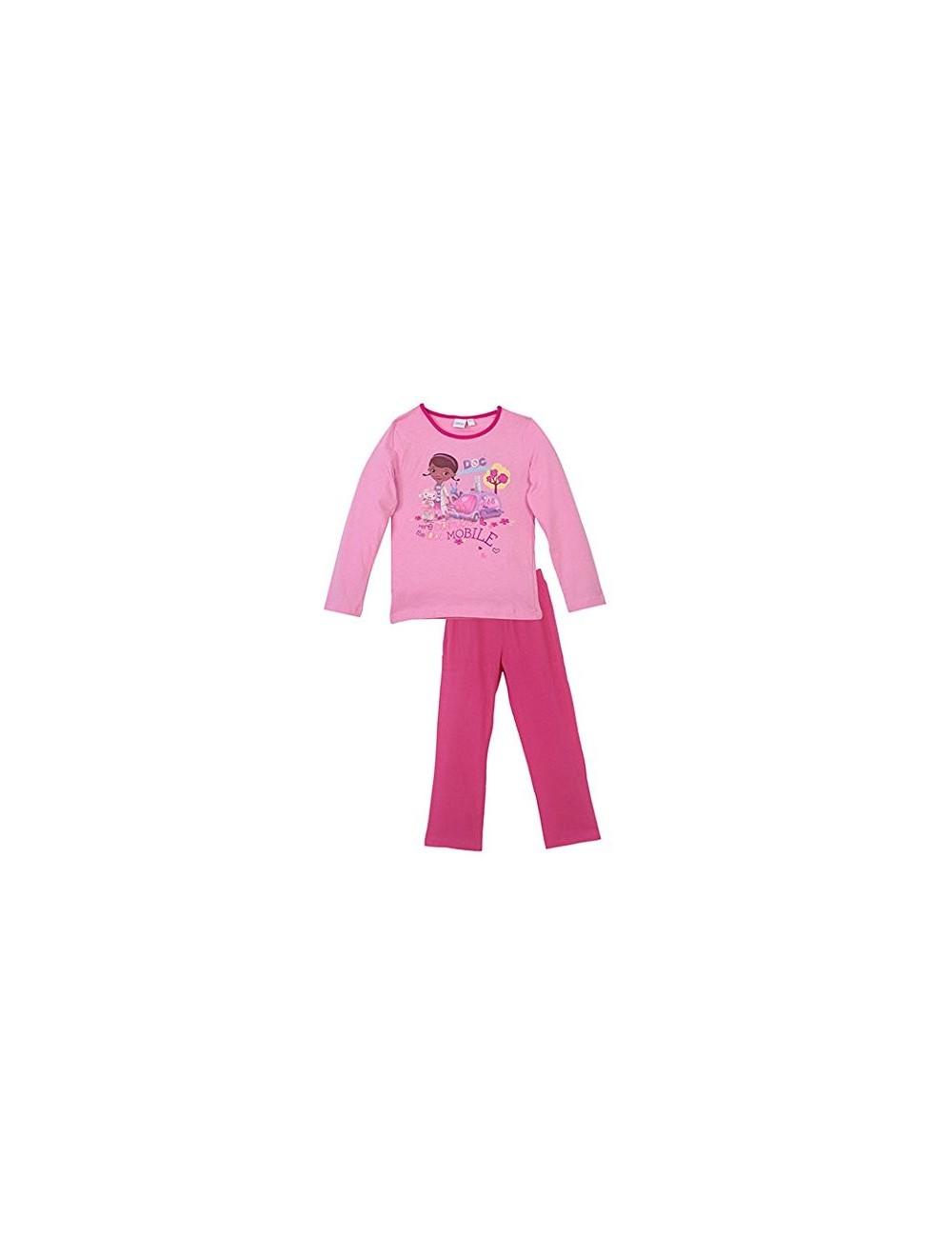 Pijama fete, Dr. Plusica Mobile, roz, 3-6 ani