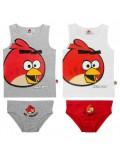 Set maiou si chilotei 4 - 8 ani Angry Birds