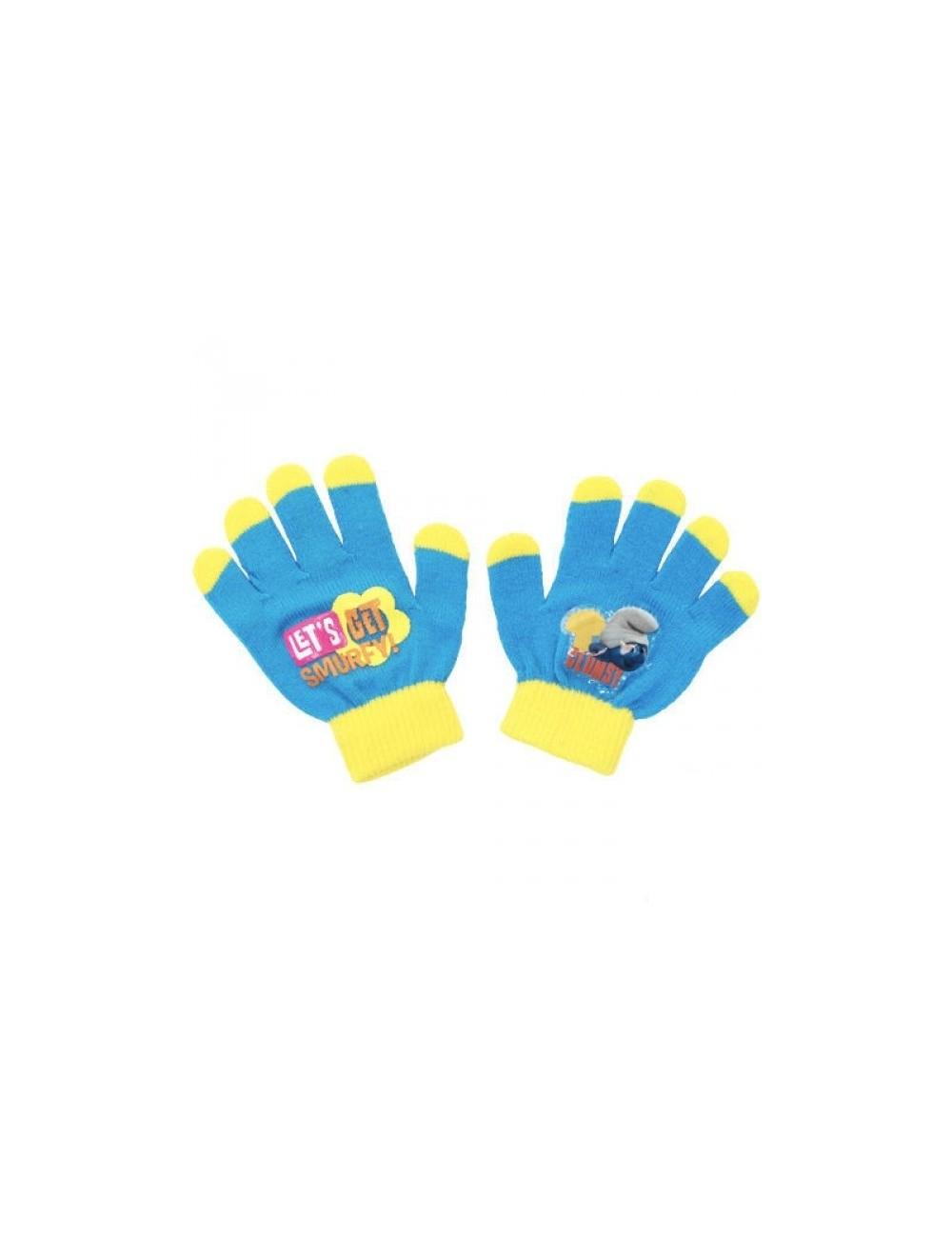 Manusi cu Strumfi pentru copii PT6587