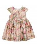 Rochie eleganta cu model floral, copii 3 - 6 ani
