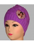 Caciula tricotata Disney Violetta, 54 si 56