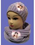 Fular tricotat Disney Violetta, diam. 70 cm