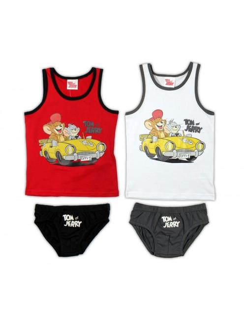 Set maiou si chiloti copii 3- 8 ani, Tom si Jerry