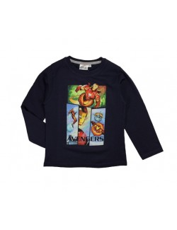 Bluza Avengers Iron Man, bleumarin, 4 - 9 ani