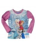 Bluza fete 4-9 ani, Anna, Elsa si Olaf, Disney Frozen
