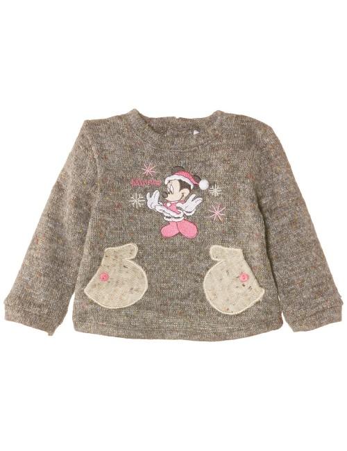 Pulover elegant bebelusi, Minnie Mouse, 6 - 23 luni