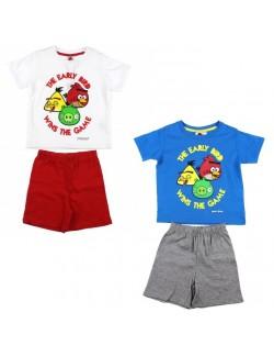 Set vara: tricou si pantaloni scurti Angry Birds