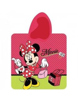 Prosop poncho copii Minnie Mouse