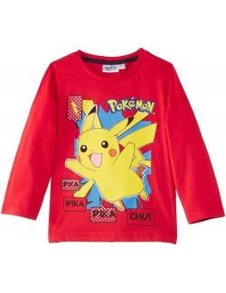 Bluza rosie, copii 3 ani, Pokemon
