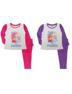 Pijama copii, Frozen, mov sau fucsia