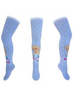 Ciorap pantalon bleu cu Elsa - Disney Frozen