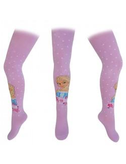 Ciorapi pantaloni mov cu Elsa - Disney Frozen