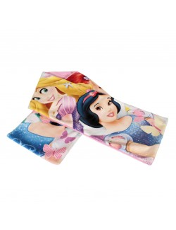Fular polar-fleece 100 cm cu Printesele Disney