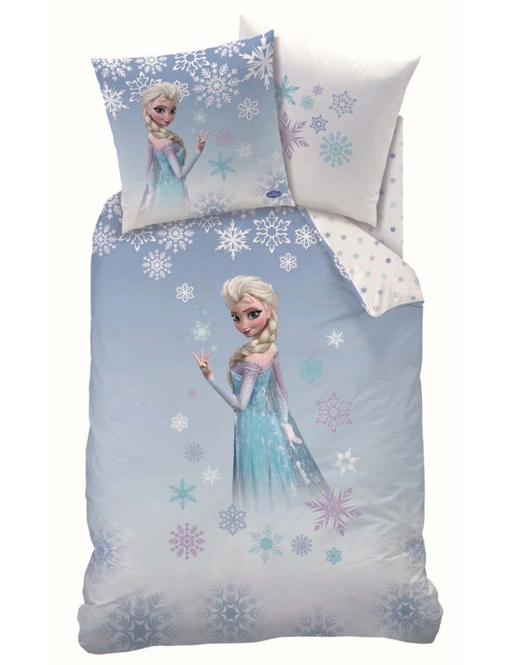 Lenjerie de pat 160x200 cm, Elsa - Disney Frozen