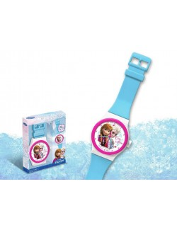 Ceas perete Disney Frozen 92 cm Ana si Elsa