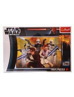 Puzzle 260 piese, Star Wars - Razboiul Clonelor