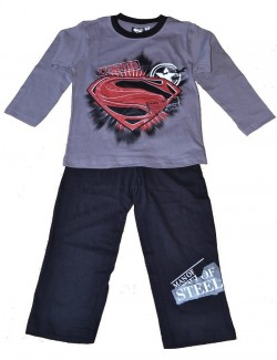Pijama baieti 3-10 ani, Superman Classified