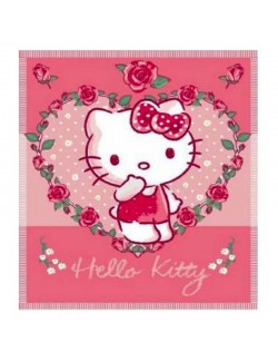 Paturica polar-fleece 100x150 cm - Hello Kitty
