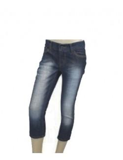 Pantaloni fete - jeans skinny 3/4 Sunshine Funky Diva