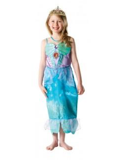 Costum carnaval Ariel Mica Sirena Glitter 1 Rubie's