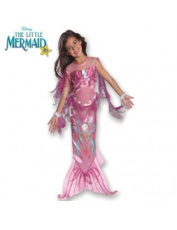 Costum carnaval copii: Sirena Roz - Rubie's