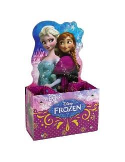 Suport creioane Disney Frozen, 3 compartimente