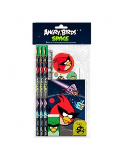 Set papetarie Angry Birds Space