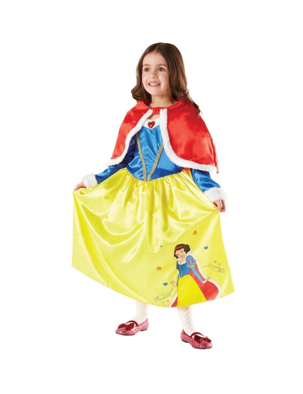 Costum Alba ca Zapada -model de iarna-Rubie's