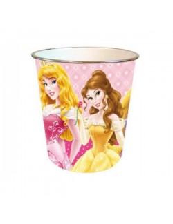 Cos de gunoi cu Printesele Disney 21*21 cm