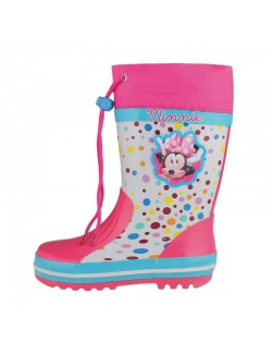 Cizme cauciuc cu siret - Disney Minnie Mouse