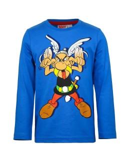 Bluza albastra Asterix, baieti 6 ani