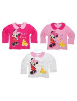 Bluza bebe Minnie Mouse, 6-23 luni