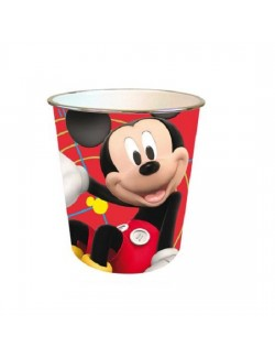 Cos de gunoi cu Mickey Mouse 21*21 cm