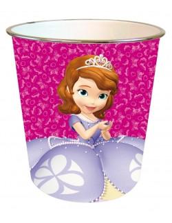 Cos gunoi cu Printesa Sofia Intai 22 x 21 cm