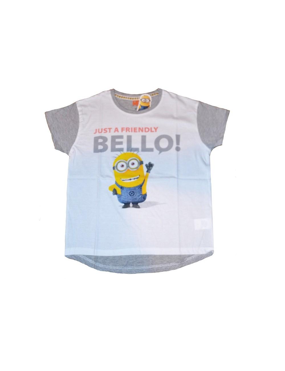 Tricou Minions Bello, pentru femei, S-L