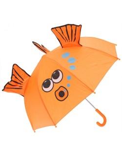 Umbrela manuala Pestisor Auriu 46 cm