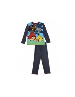 Pijama Angry Birds gri inchis 4-8 ani