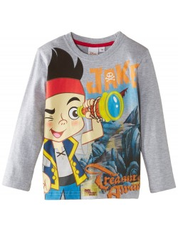 Bluza gri Jake si Piratii - Treasure 3-6 ani
