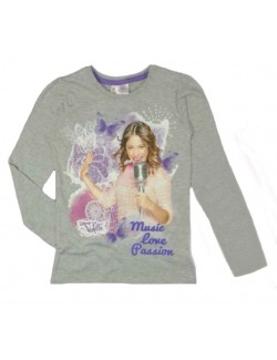 Bluza Violetta - Music, Love, Passion, 9-11 ani