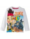 Bluza copii Jake si Piratii Treasure, alba, 3 - 6 ani