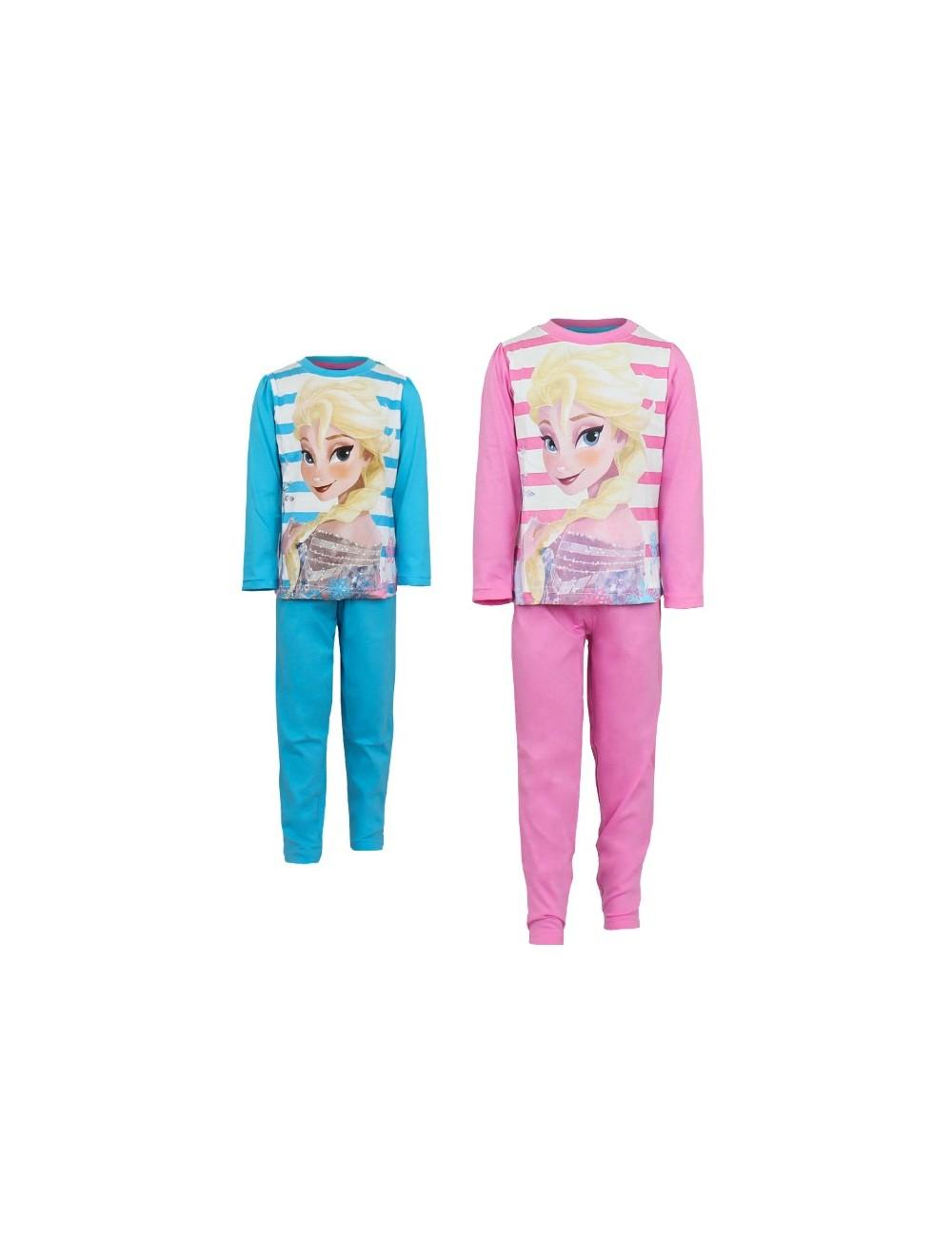Pijama cu dungi, Elsa Disney Frozen, 3 - 10 ani