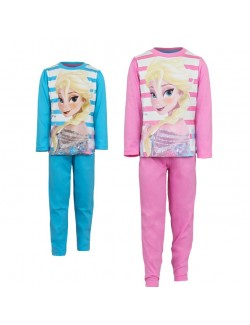 Pijama cu dungi, Elsa Disney Frozen, 9-10 ani