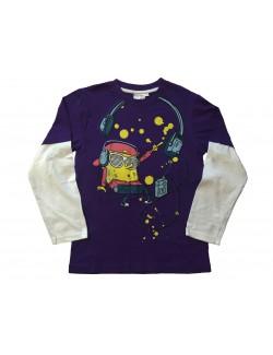 Bluza copii, Sponge Bob Music, 8 - 10 ani