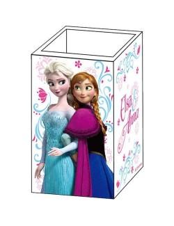 Suport lemn pentru creioane Disney Frozen
