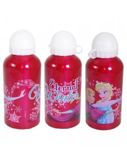 Recipient lichide Disney Frozen 500 ml, fucsia
