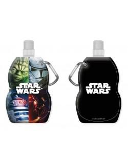 Recipient pliabil pentru lichide Star Wars 500 ml