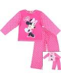 Pijama maneca lunga Minnie Mouse, copii 4-8 ani