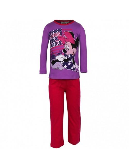 Pijama copii, Minnie Mouse distressed, 6 ani